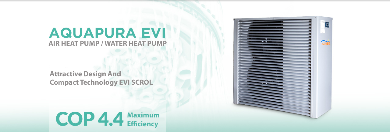 Aquapura EVI Heat Pump